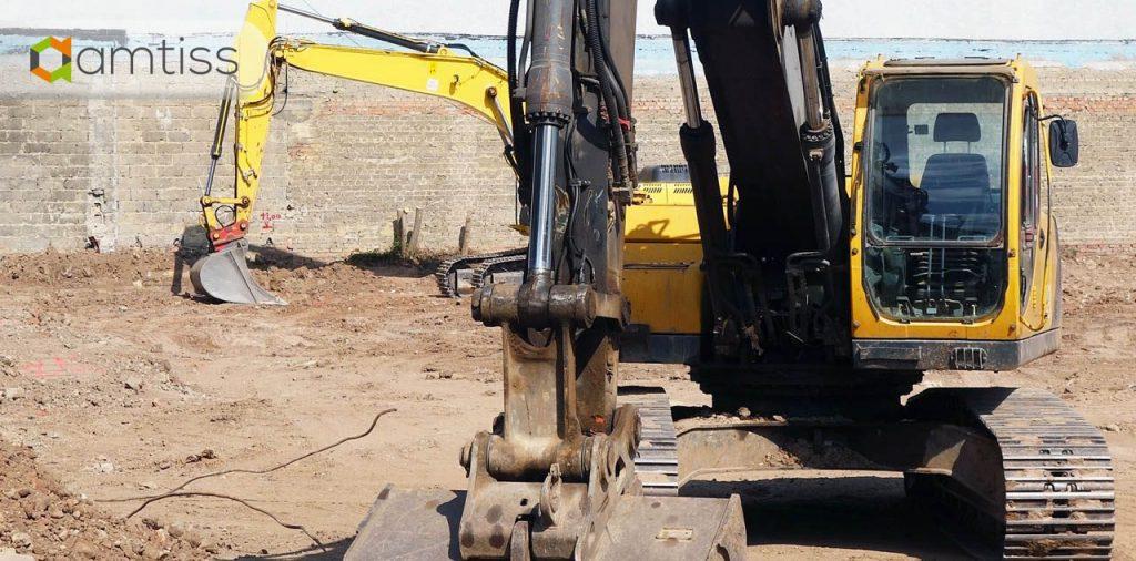 Excavator dengan Sistem Hidrolik